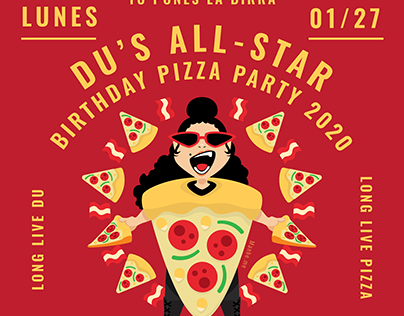 Du's All Star Pizza Party
