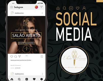 Social Media - Studio Lourenço