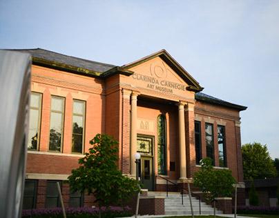Clarinda Carnegie Art Museum promo