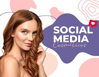 SOCIAL MEDIA - Cosméticos