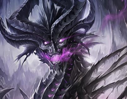 Terrandor the undead dragon