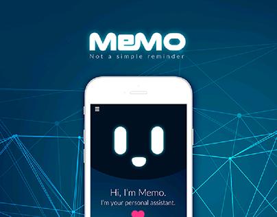 Memo - AI Reminder Mobile Ui