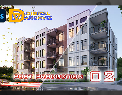 Architectural Exterior Post Production 02
