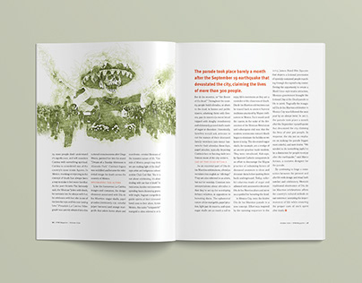 Editorial Design: Day of the Dead