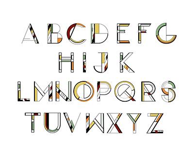 Frank Lloyd Wright Typeface
