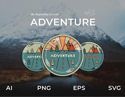 Adventure. Logo