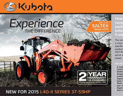 Kubota Adverts