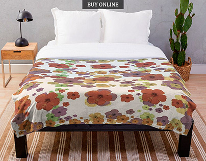 Multicolored Floral Print Collection