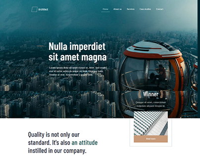 Full Responsive Wordpress Website For Architech