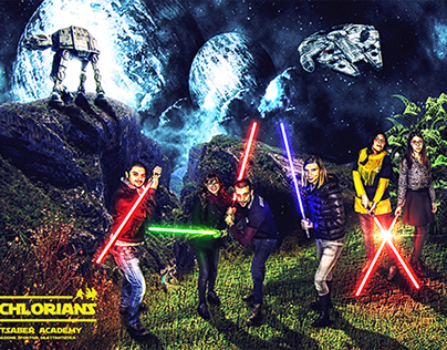 Photoset Star Wars - Palestra LUpo 2015