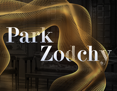 Park Zodchy interior studio website design