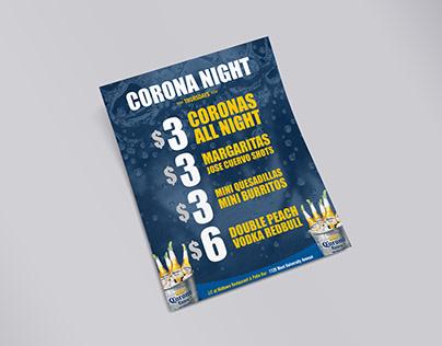 Alternate Corona Night Flyer