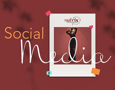 Nutrix beauty clinic - Social Media