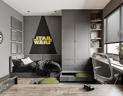 Star Wars - Young Room Design