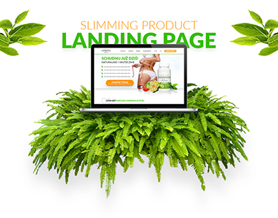 Slimming Product - Landing Page