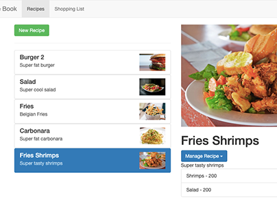 Recipe Book app built in Angular & Firebase