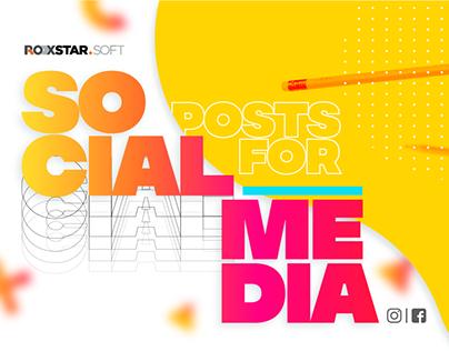 Social Media - Roxstarsoft