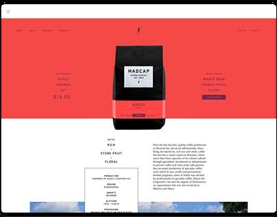 Madcap Website