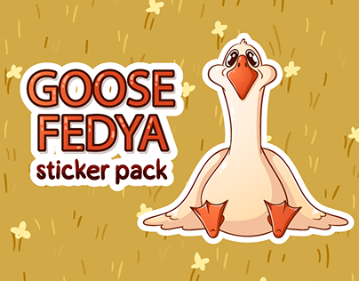 Goose VK Official sticker pack