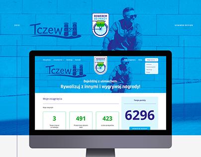 Rowerem do pracy - konkurs // Logo + UX & Web Design