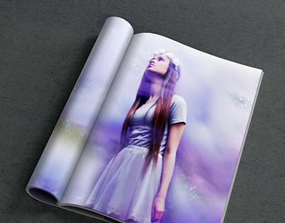 Escapism Through Fantasy; SS15 Fashion Photoshoot