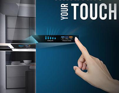 Refrigerator ad.