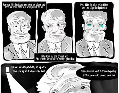 Conto em Quadrinho- Vista Cansada (Otto Lara Resende)