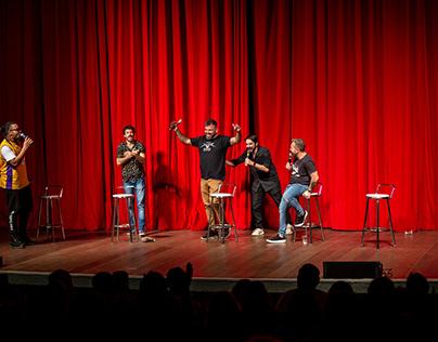 """Teatro // Apresentação do grupo """"Pretinho Básico"""""""