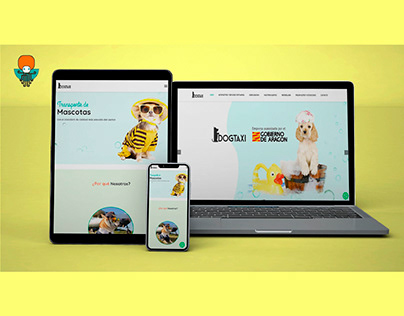 Web Design for DOGTAXI