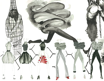 Ready-To-Wear designs inspired by Trapped