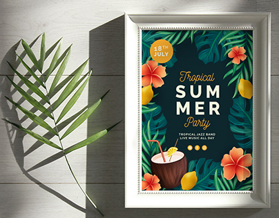 Summer Poster Collection