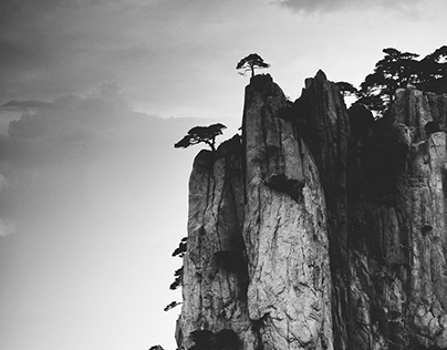 The silence of Huangshan