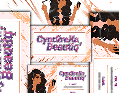 Cosmetic Business Logo and Business Card