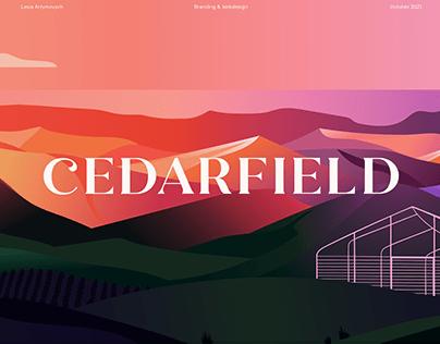 Cedarfield Farms Website and Branding