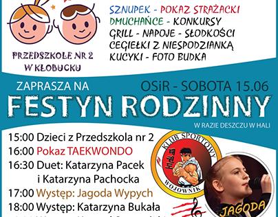 Plakat - Festyn Przedszkola nr 2