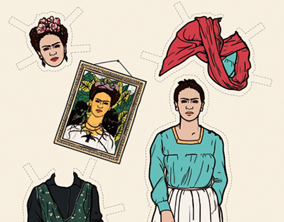 Awesome Women Paper Dolls