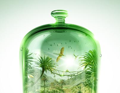 Small World #3 / Bell Jar