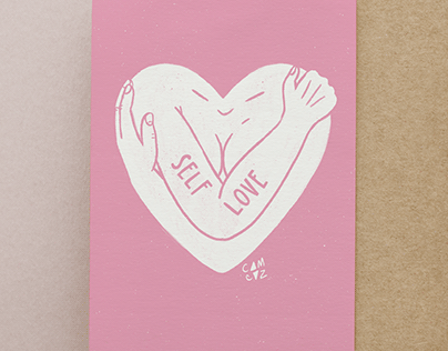 Self love illustrations