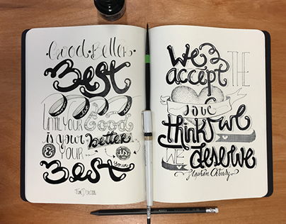 Handlettering and Drawings I