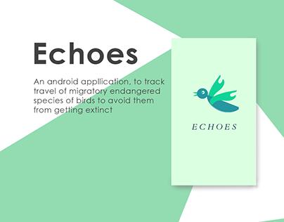 Echoes app design