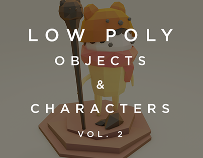Low Poly -  Objects and Characters Vol. 2