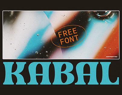 Kabal - Bold Serif Fonts (FREE)