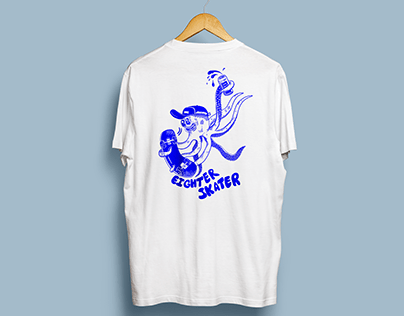 Eighter skater tee - Available on everpress