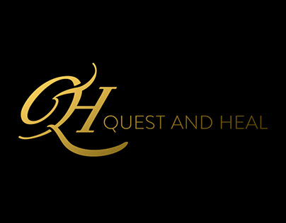 """QUEST AND HEAL """"Q&H"""" Logo."""