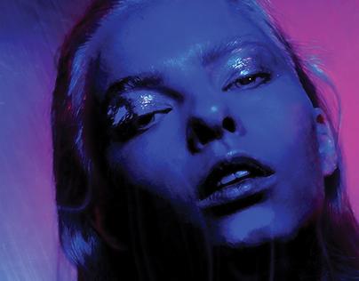 Blue Velvet Girl