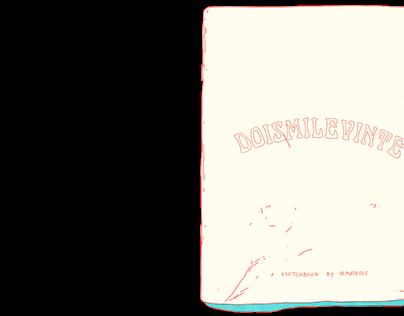 Doismilevinte - A sketchbook by Mathiole