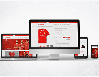 Benfica Online Store Promo