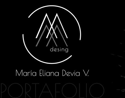 Portafolio María Eliana - Diseño
