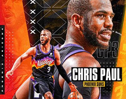 Nba Art | Chris Paul | Phoenix Suns