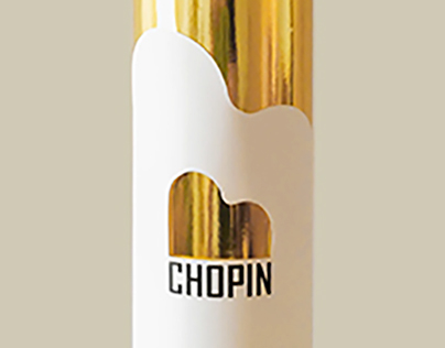 Packaging for Chopin Vodka